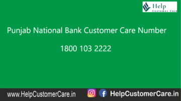 PNB Customer Care Number 1800 180 2222