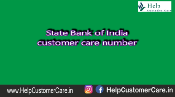 State Bank of India customer care number @ 1800 425 3800
