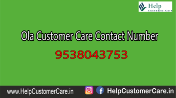 Ola Customer Care Contact Number @ +91-022-33553355