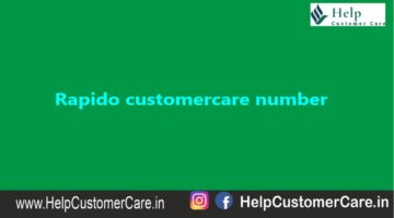 Rapido Customer Care