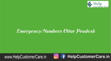 Emergency Numbers Uttar Pradesh , Uttar Pradesh Helpline Number