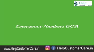 Emergency Numbers GOA , Goa Helpline Number