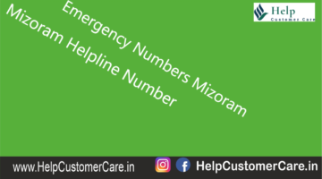 Emergency Numbers Mizoram , Mizoram Helpline Number