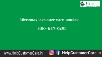 Micromax customer care number @ 0129-4883999