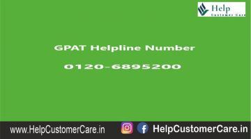 GPAT Helpline Number
