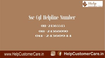 Ssc Cgl Helpline Number