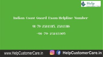 Indian Coast Guard Exam Helpline Number