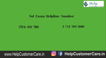 Nsf Exam Helpline Number