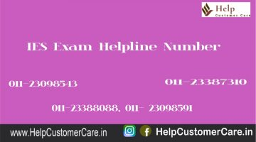 IES Exam Helpline Number